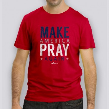 Adult Make Pray Short Sleeve Tee