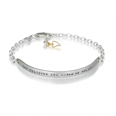 Believed She Could - Bracelet