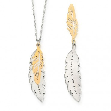 Brave Wings Fly - Necklace