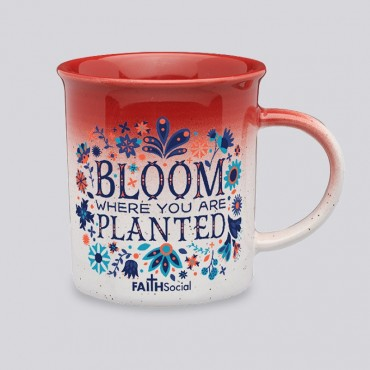 Bloom Where Planted 10 OZ Gradient Mug
