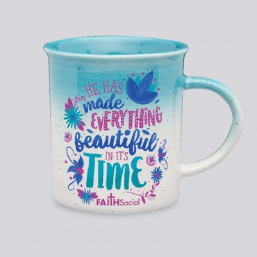 Beautiful in Time 10 OZ Gradient Mug