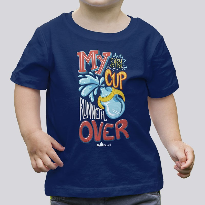 Toddler Boys Sippy Cup Tee