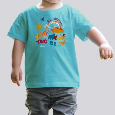 Toddler Boys All Aboard Noah's Ark Tee