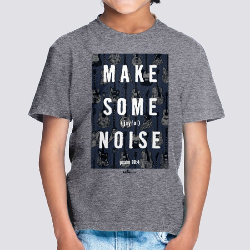 Youth Boys Make Joyful Noise Short Sleeve Tees