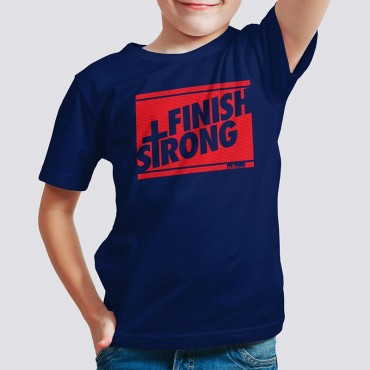 Yth Boys Finish Strong Short Sleeve Tee