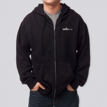 Adult Logo Zip Fleece