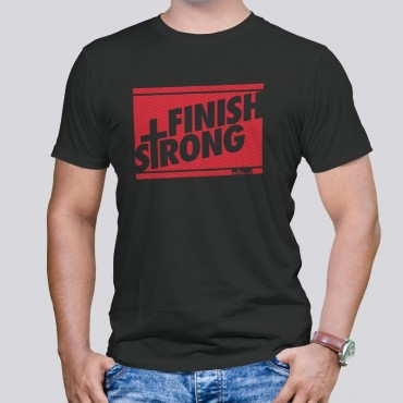 Adult Finish Strong Short Sleeve Tee