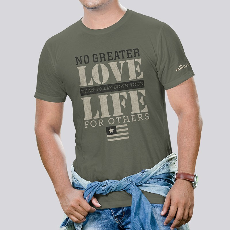 Adult No Greater Love Short Sleeve Tee