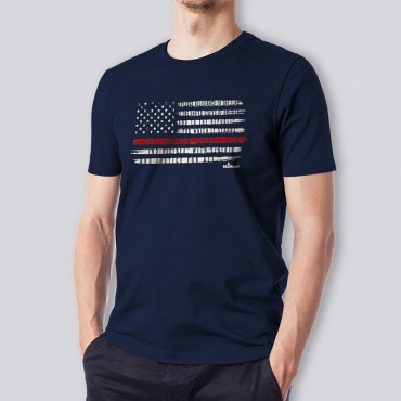 Adult One Nation Short Sleeve Tee
