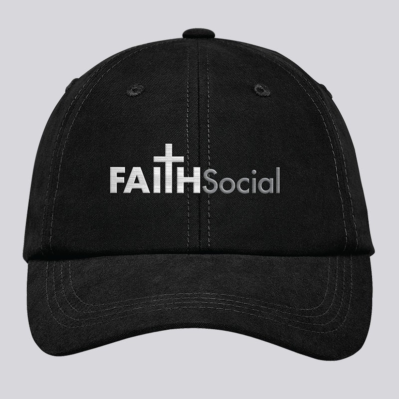 Faith Social Logo Cap