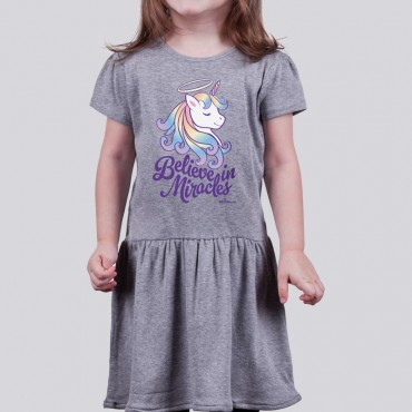 Toddler Girls Believe in Miracles Dress