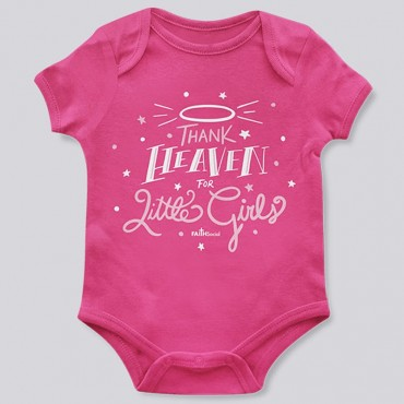 Infant Thank Heaven Little Girls Body Suit