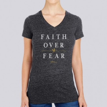 Christian T-Shirt - Have Faith Over Fear