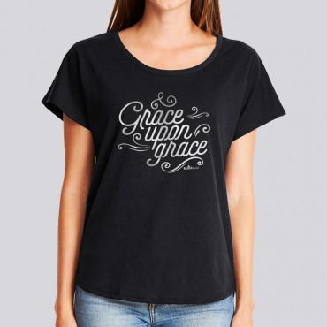 Ladies Grace Upon Grace Dolman Tee