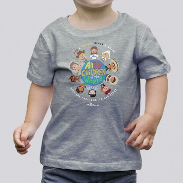 Toddler Boys Children of the World Tee
