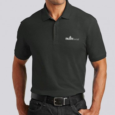 Adult Logo Polo