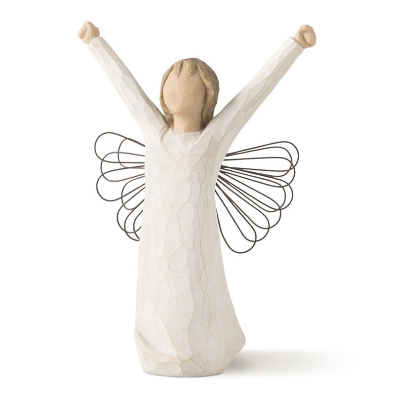 Small Angel of Courage Figurine