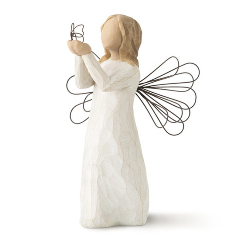 Angel of Freedom Figurine with Butterfly