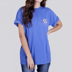 Ladies Pour Out Your Heart Garment Dyed Short Sleeve Tee