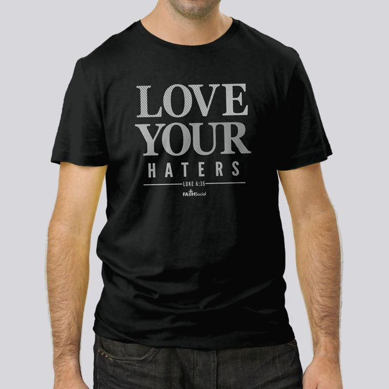 Adult Love HatersShort Sleeve Tee