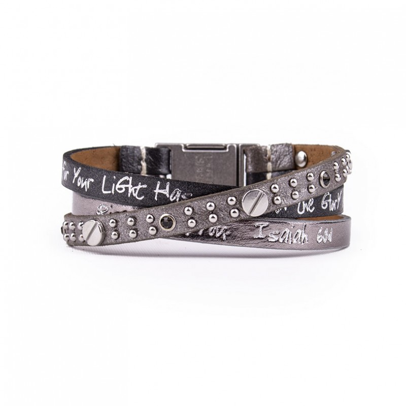 Good Works Isaiah 60:1 Scripture Bracelet