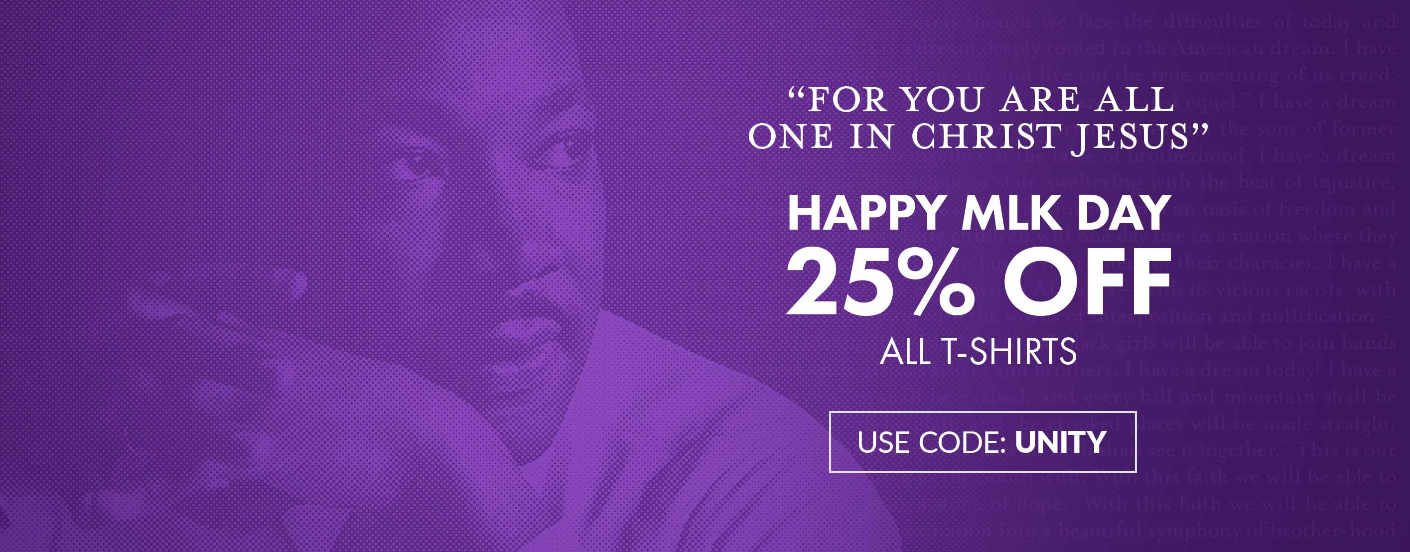 Martin Luther King Day Sale