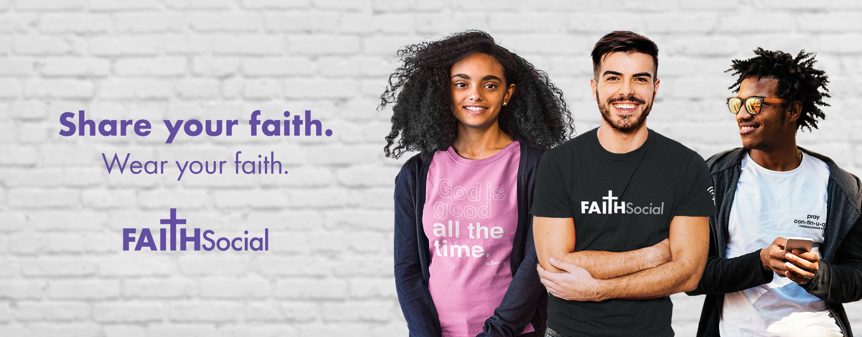 Share your faith. Wear your faith.